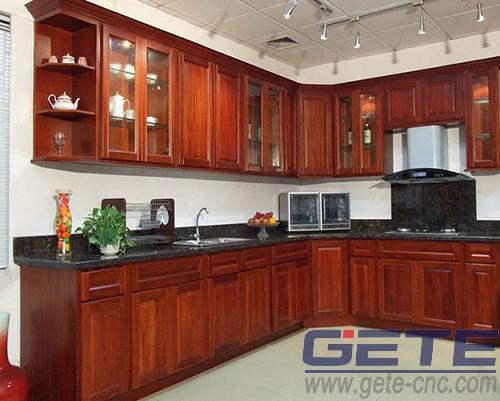 板式家具生产设备 橱柜样品
