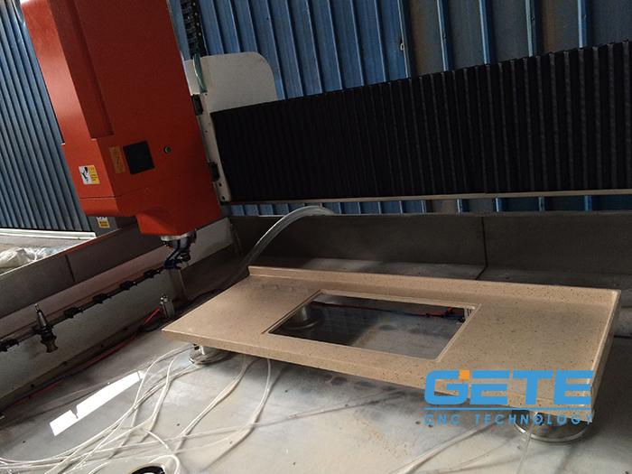 浙江杭州石英石机器加工案例