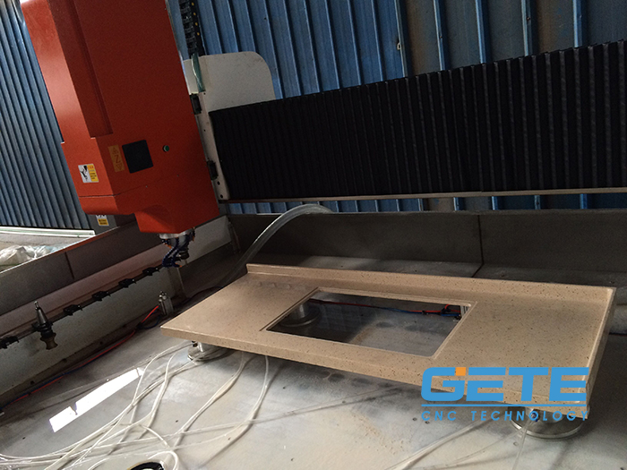 浙江杭州石英石机器使用案例