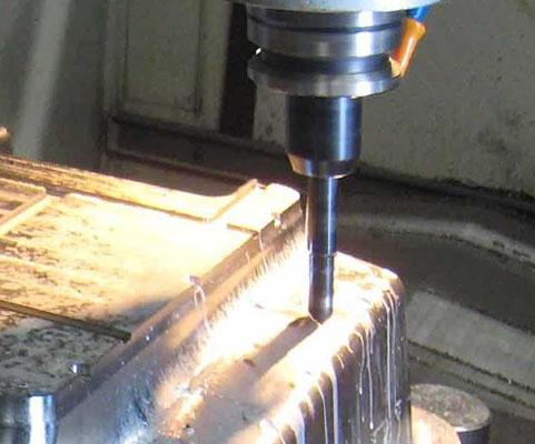 四轴模具雕刻机 开孔