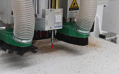 板式家具生产线-双工位加排钻打孔
