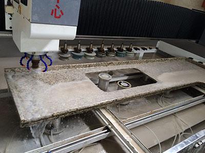 石英石厨房台面加工