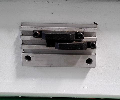 木工加工中心 机械限位